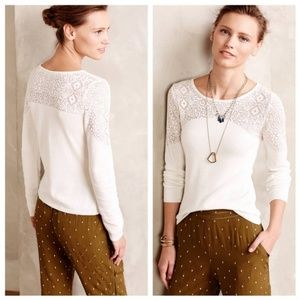 Anthropologie | Knitted & Knotted Nettie sweater